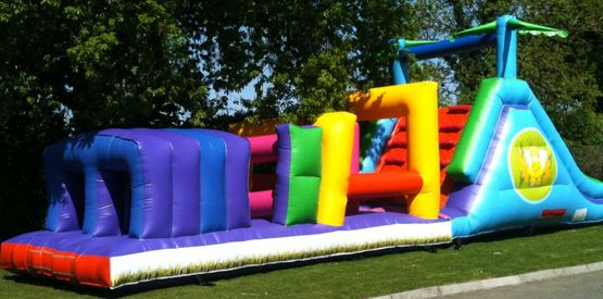 40ft x 12ft Elephant Obstacle Course