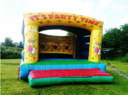 15 x 15ft Party Time Bouncy Castle