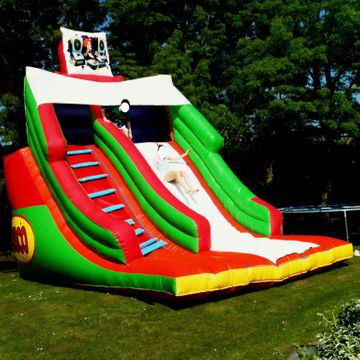 18ft x 15ft x 18ft Disco Slide