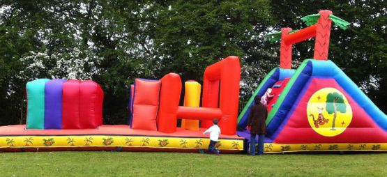 40ft x 12ft Tiger Obstacle Course